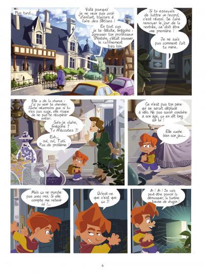 Page 5 gargouilles tome 2 - la clef du temps
