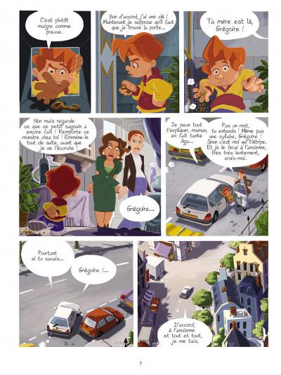 Page 6 gargouilles tome 2 - la clef du temps