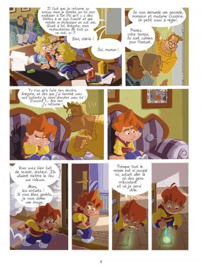 Page 7 gargouilles tome 2 - la clef du temps