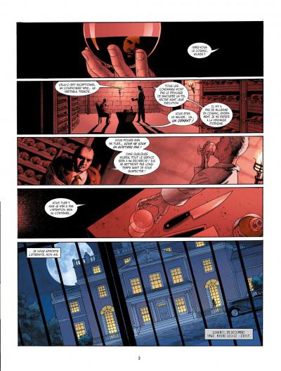 Page 1 je suis légion tome 1 - le faune dansant