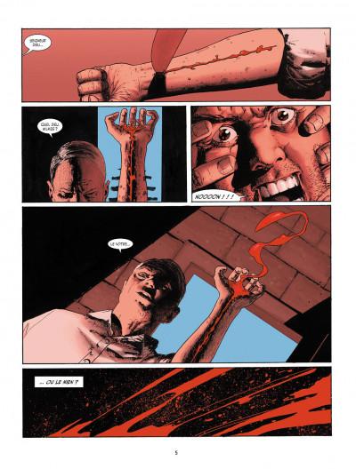 Page 3 je suis légion tome 1 - le faune dansant