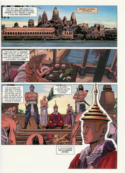 Page 1 mandalay tome 1 - les miroirs de l'ombre
