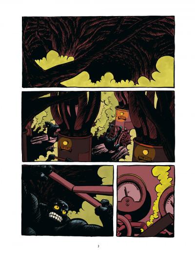 Page 3 koma tome 1 - la voix des cheminées