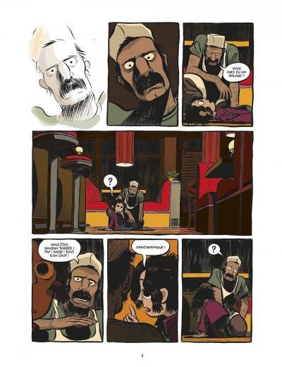 Page 5 koma tome 1 - la voix des cheminées