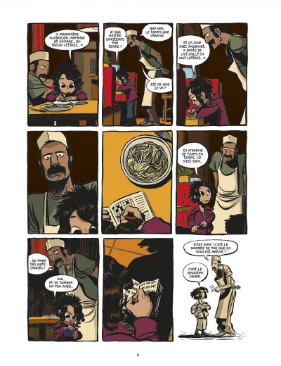 Page 6 koma tome 1 - la voix des cheminées