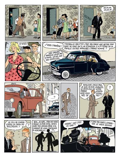 Page 5 la vie de victor levallois tome 4 - la ballade des clampins
