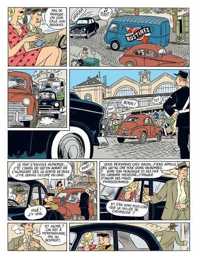 Page 6 la vie de victor levallois tome 4 - la ballade des clampins