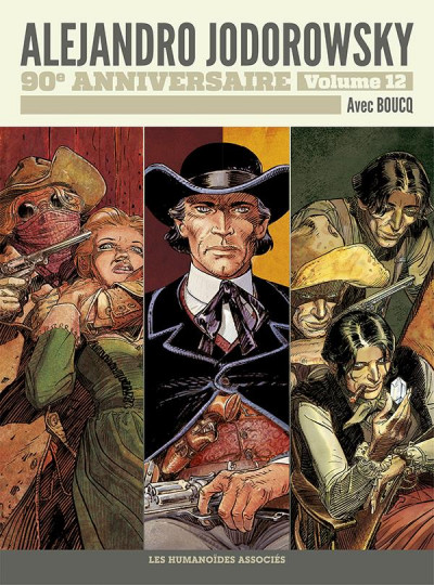 Couverture Jodorowsky 90 ans tome 12