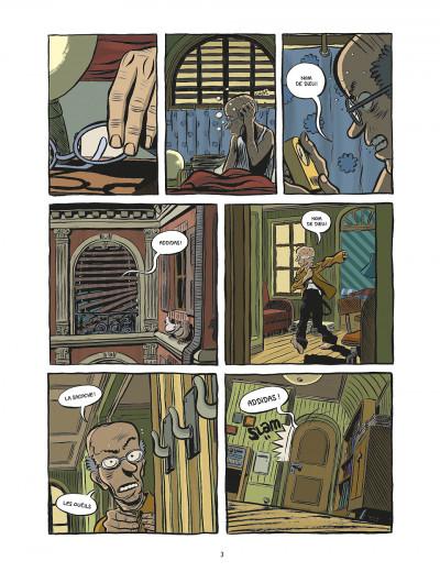 Page 3 koma tome 2 - le grand trou
