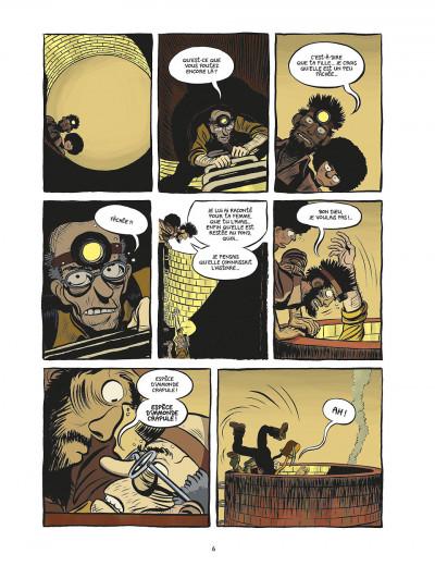 Page 6 koma tome 2 - le grand trou