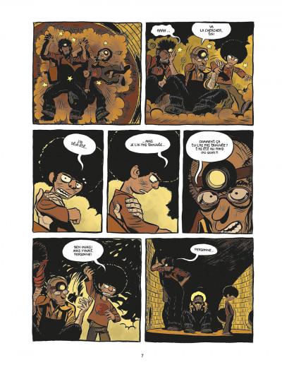 Page 7 koma tome 2 - le grand trou
