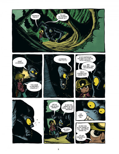 Page 8 koma tome 2 - le grand trou
