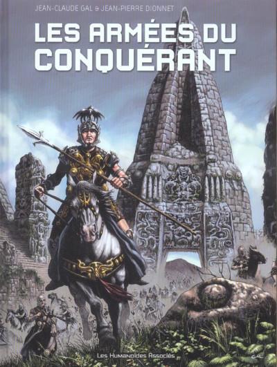 Couverture les armées du conquérant
