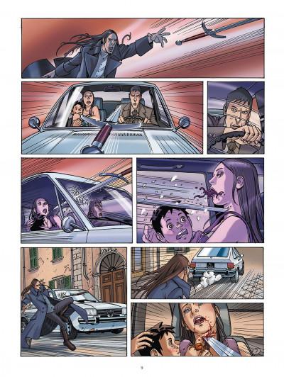 Page 8 le jour des magiciens tome 2 - drazen
