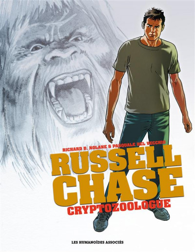 Couverture Russell Chase - Cryptozoologue - Intégrale