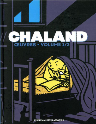 Couverture Chaland oeuvres tome 1