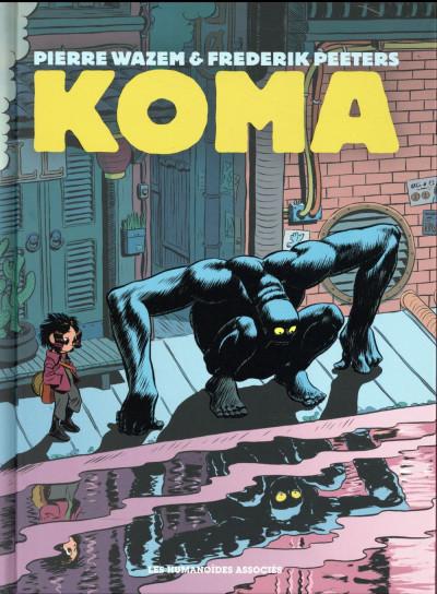 Couverture Koma - intégrale