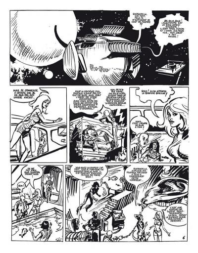 Page 8 Barbarella - Intégrale N&B (+ Les Colères du mange-minute)