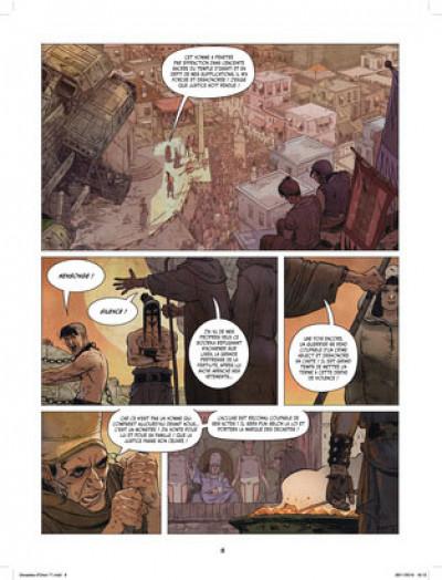 Page 7 Les décastés d'Orion tome 1