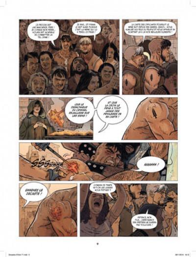 Page 8 Les décastés d'Orion tome 1