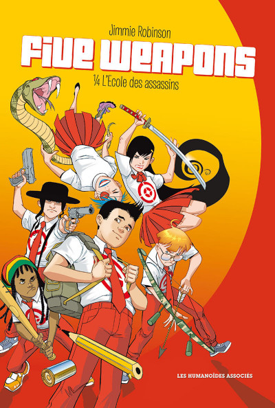 Couverture Five Weapons tome 1