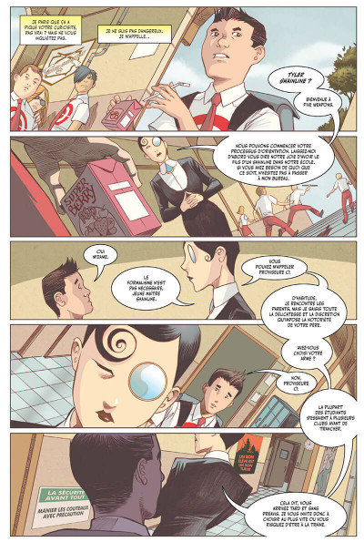 Page 6 Five Weapons tome 1