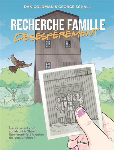 Couverture Recherche famille, désespérément