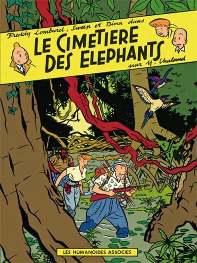 Couverture Freddy Lombard ; le cimetière des éléphants