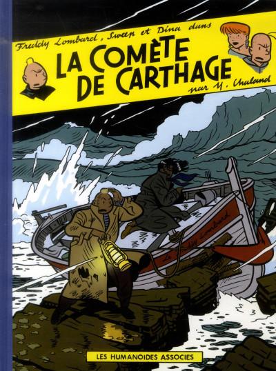 Couverture Freddy Lombard - la comète de Carthage
