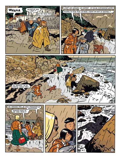 Page 3 Freddy Lombard - la comète de Carthage