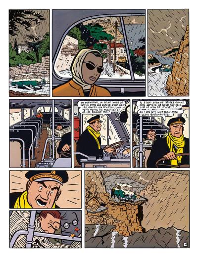 Page 5 Freddy Lombard - la comète de Carthage