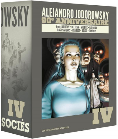 Couverture Jodorowsky 90 ans - coffret tome 4