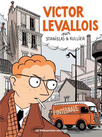 Couverture Victor Levallois - intégrale