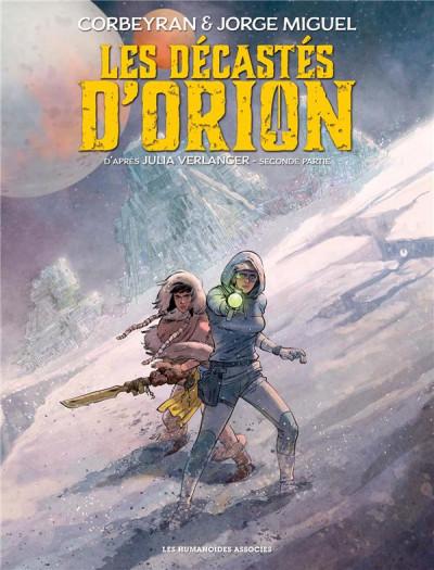 Couverture Les décastés d'Orion tome 2