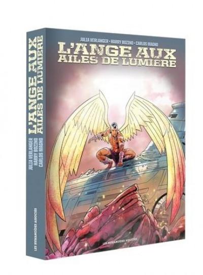 Couverture L'ange aux ailes de lumière - coffret