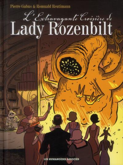 Couverture l'extravagante croisière de Lady Rozenbilt