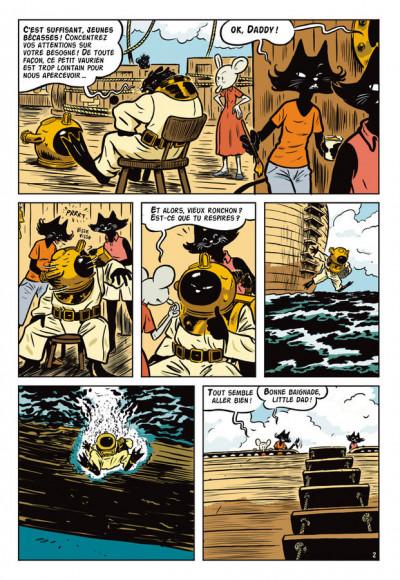 Page 2 l'extravagante croisière de Lady Rozenbilt