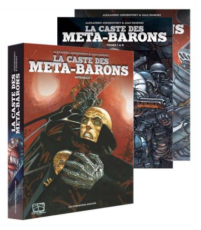 Couverture La caste des méta-barons - intégrale sous coffret