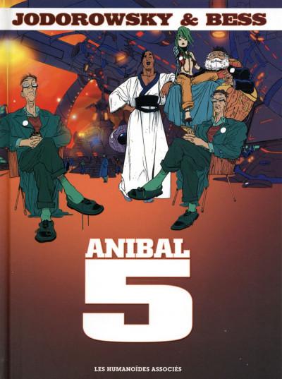 Couverture Anibal 5 - Intégrale 40 ans