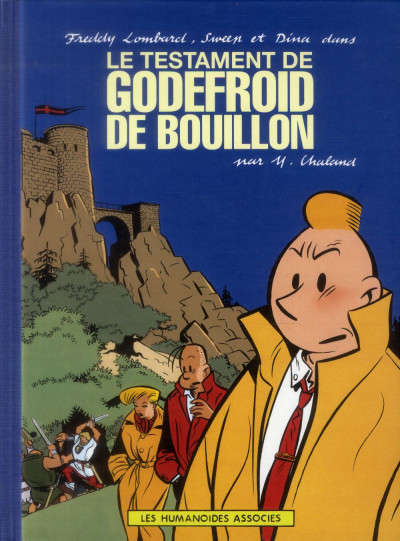 Couverture Freddy Lombard - Le Testament de Godefroid de Bouillon