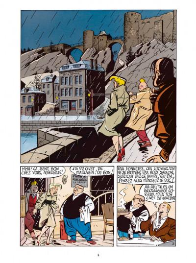 Page 3 Freddy Lombard - Le Testament de Godefroid de Bouillon