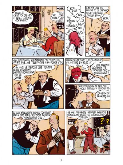 Page 4 Freddy Lombard - Le Testament de Godefroid de Bouillon
