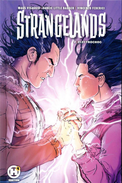 Couverture Strangelands tome 2