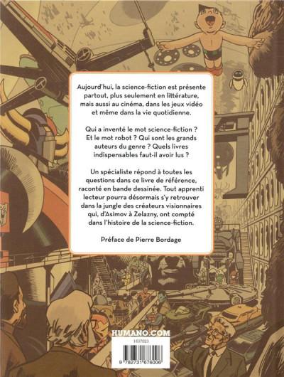 Dos Histoire de la science fiction