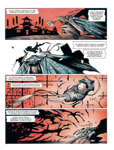 Page 2 La Légende des nuées écarlates - Intégrale