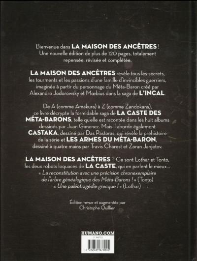 Dos La caste des Méta-Barons - La maison des ancêtres (ed. 2016)