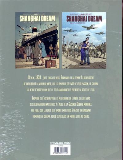 Dos Shangai dream - coffret tomes 1 et 2