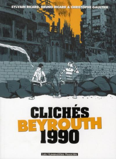 Couverture clichés Beyrouth 1990