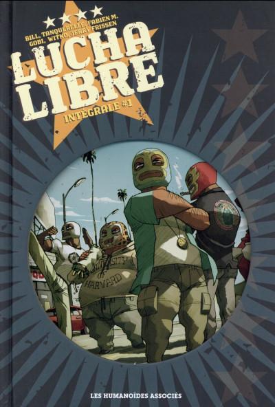 Couverture Lucha Libre - Intégrale 1