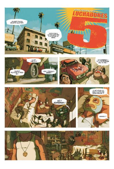 Page 1 Lucha Libre - Intégrale 1